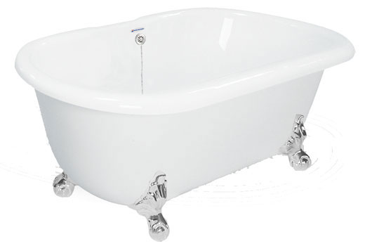 clawfoot tub with jets. Jetted Dual Ended Clawfoot Tubs  Whirlpool Air Bath Injection and