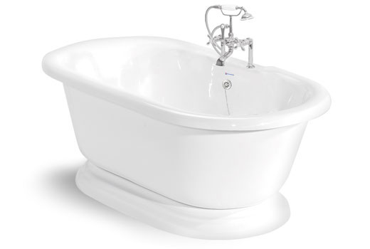 free standing tub sizes. Nobb Hill 5 Foot Pedestal Tub Freestanding Tubs  Multiple Sizes and Custom Color Combinations