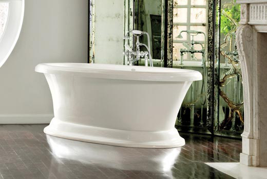 Dual Ended Jetted Pedestal Tub With Air Bath Carrington