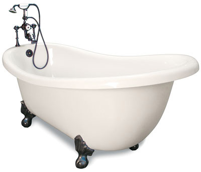 Churchill Clawfoot Slipper Tub Jetted